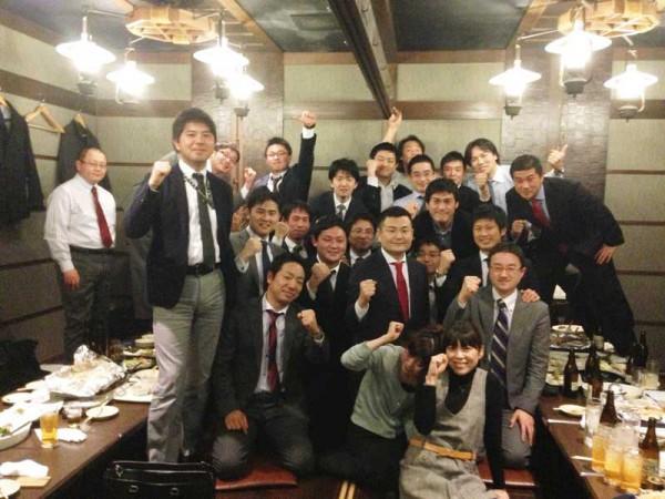 東京三菱銀行2002年入社の同期たちと かわの義博