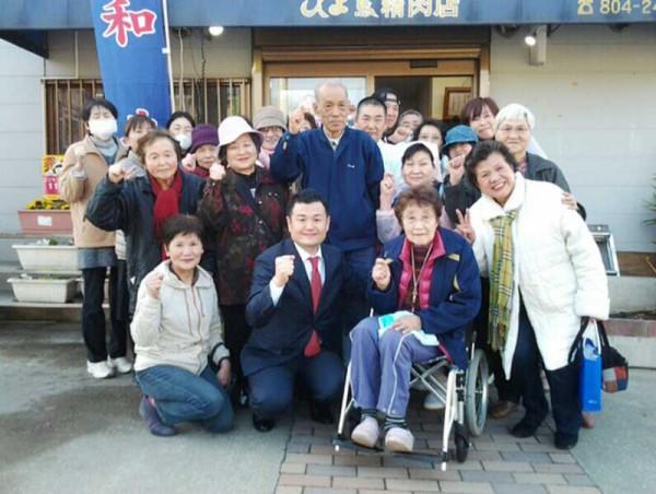 私に勇気を与えて下さった福岡市早良区の皆様とともに かわの義博