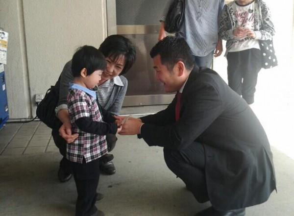 福智町では、小さな「かわの応援団」との出会いがありました。