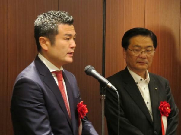 公明党福岡市議会の石田まさあき議員とかわの義博