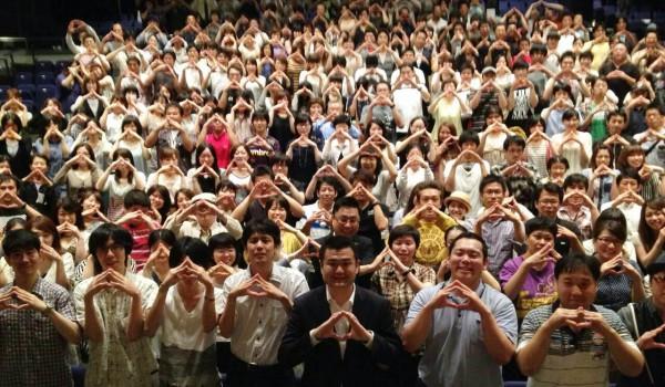 長崎のKOMEI ユース・フェス 2013の参加者とかわの義博