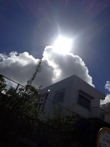 7月5日快晴の沖縄