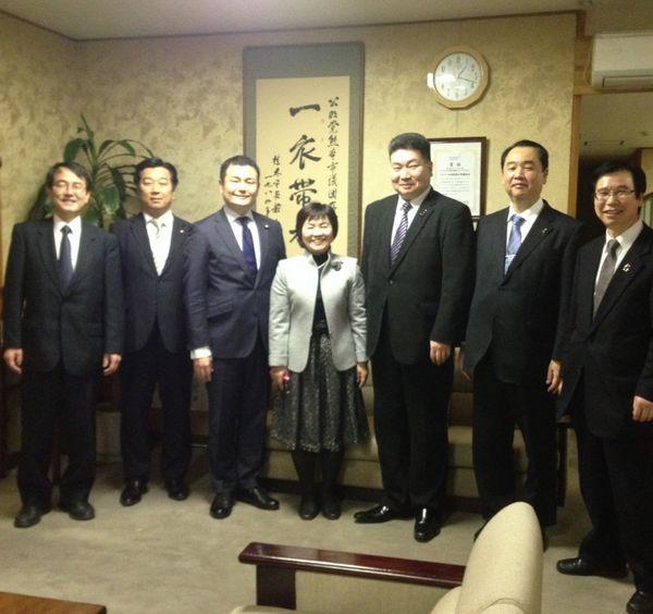 熊本県・市会議員の皆様と