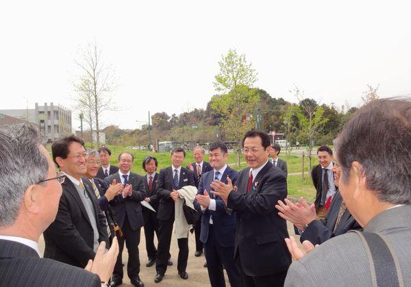 「水素社会」の取り組みを視察(福岡県)