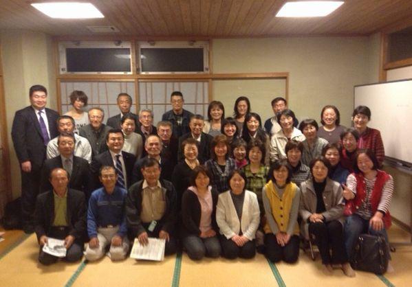 熊本県水俣市の党員会にて