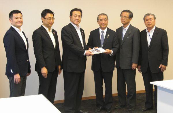 長崎県知事から要望を受けました