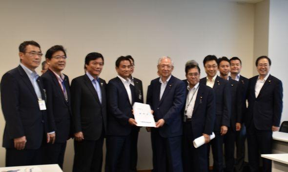 下関北九州道路の整備促進に関する要望