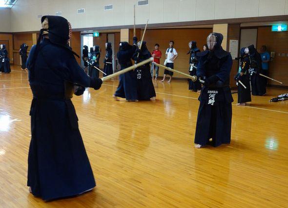 雲仙市の剣道大会