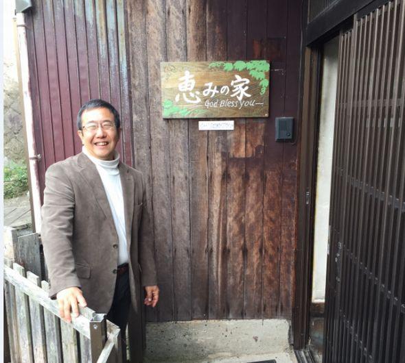 フードバンクの原田理事長