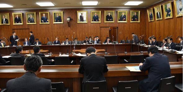 石井大臣へ初の質問