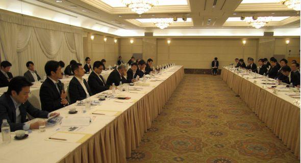 福岡市政に関する懇談会に参加