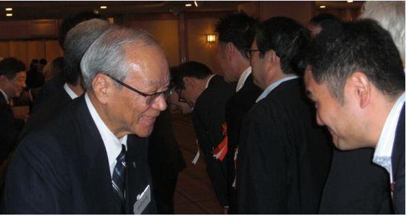 日本医師会の横倉会長にご挨拶