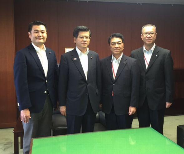 石井国交大臣と面談