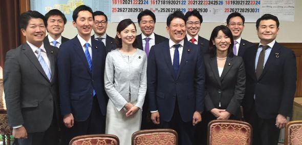 党青年委員会の新体制が発足