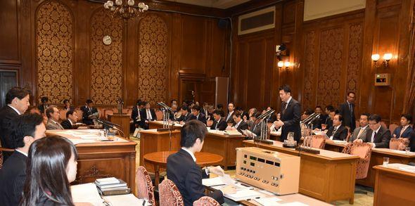 TPP特別委員会にて質疑