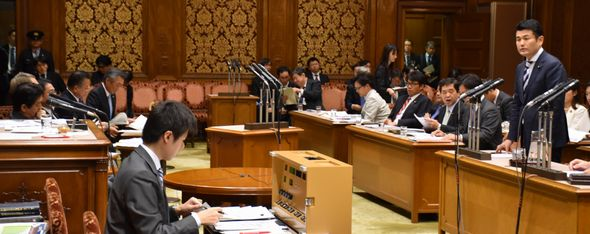TPP特別委員会で総理に質問