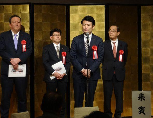 福岡地区トラック政治研究会懇親会にてご挨拶