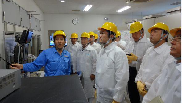 鶏糞発電施設