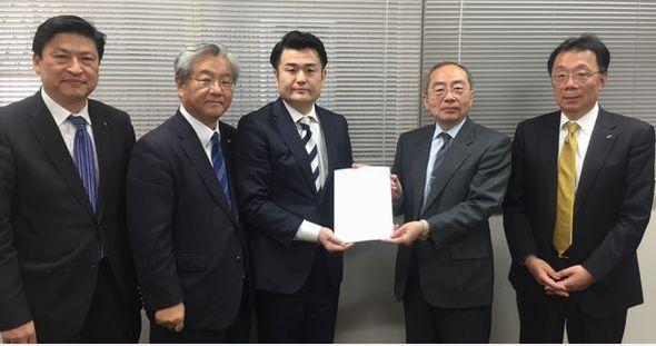 九州経済連合会より要望を受ける