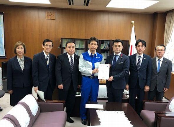 茨城県知事からも農業被害で要請
