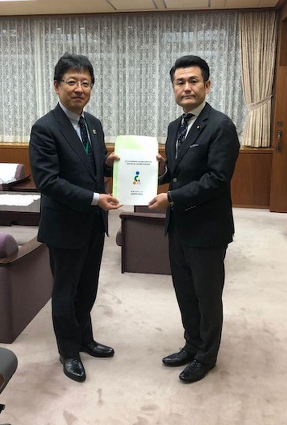 熊本市長と