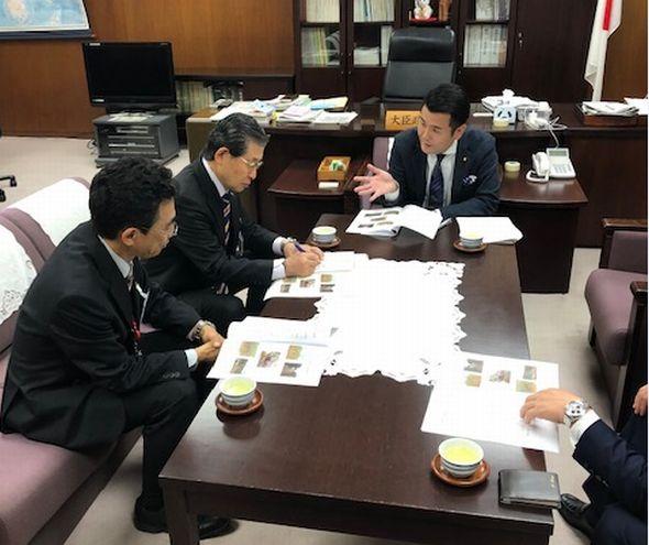 長野市長から説明を受ける