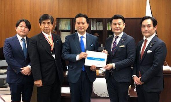 佐賀県の山口知事から要望